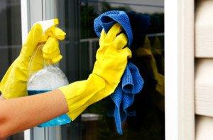 rengöringstips för att tvätta fönster
